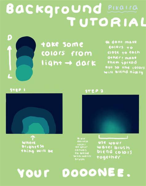 tutorial video digital background tutorial by pikaira on deviantart
