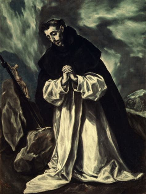angelus paint birmingham el greco st dominic in prayer c 1598 memoryprints