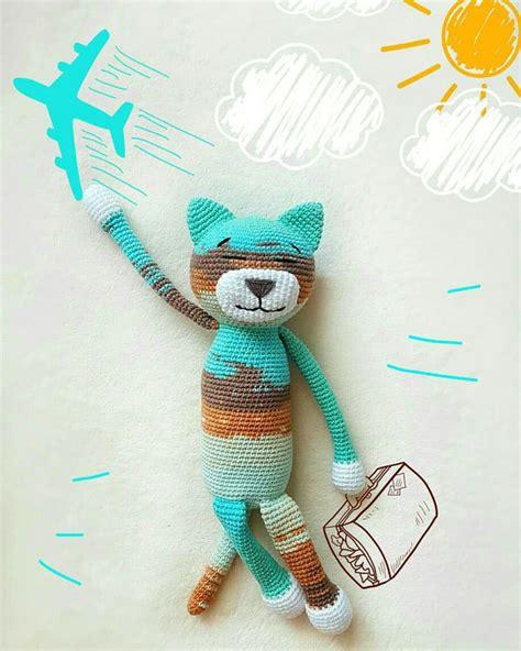 Set Ami Cat large ami cat crochet pattern amigurumi today