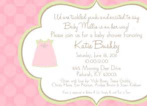 baby shower invitation wording ideas dancemomsinfo
