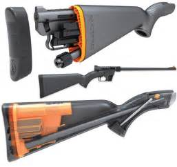 cool stock rifle disassembles stores entirely in waterproof stock