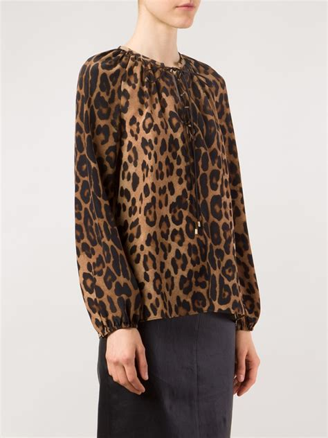 Animal Print Blouse by Where To Buy A Leopard Print Blouse Blouse With