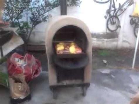 espectacular asado en mi horno de barro  ruedas youtube