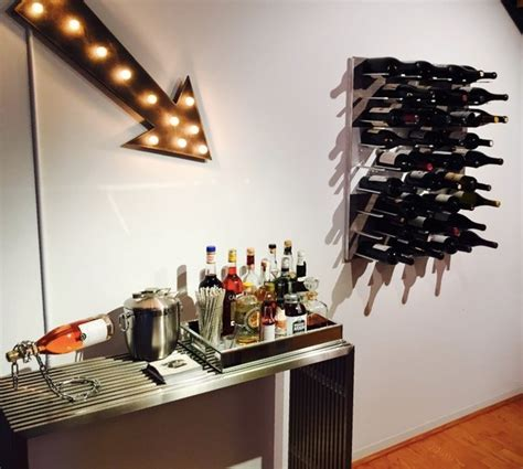 wall mounted wine storage system stact wine racks