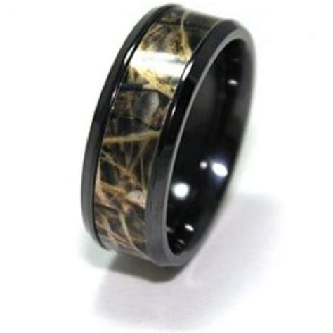 camouflage mens wedding bands mini bridal