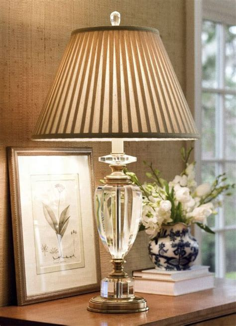 table lights for bedroom crystal lamp is pretty but i d definitely change this 17455 | ed9f52a87f572df7aa4478614e21176e crystal lamps glass lamps