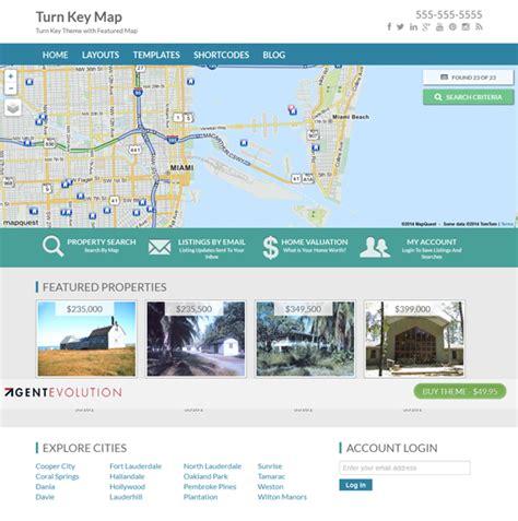 wordpress layout map 12 more of the best free premium real estate wordpress