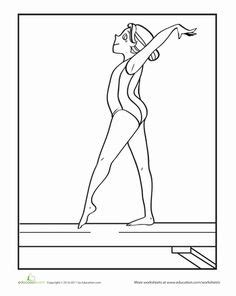 1000 Images About Gymnastics Class On Pinterest Gabby Douglas Coloring Pages