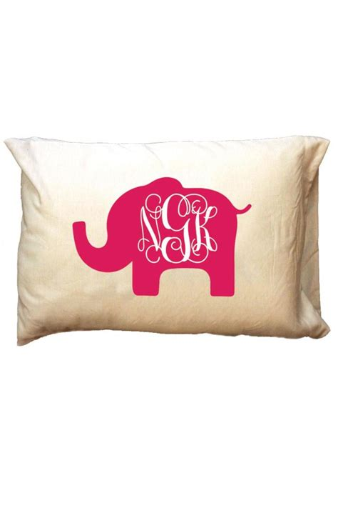 personalized home decor gifts party cat personalized elephant travel pillowcase from