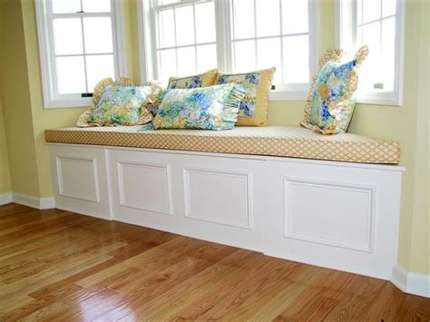 build window seat how to build a bay window storage bench woodworking