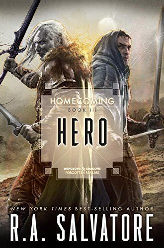 cheapest copy of hero homecoming book iii homecoming hardcover by r a salvatore