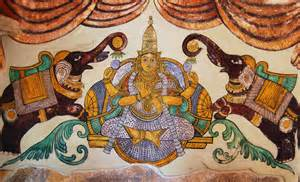Wall Tree Murals file tanjore paintings big temple 01 jpg wikimedia commons