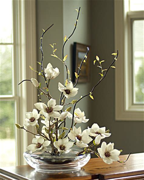 artificial flowers a great alternative home decor