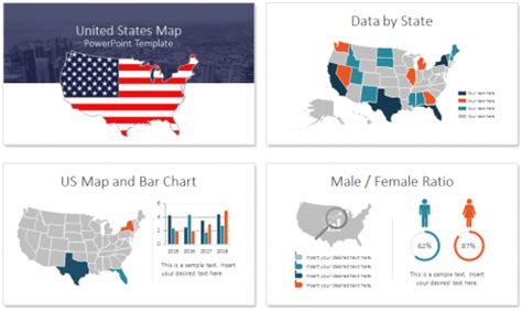United States Map Powerpoint Templates Editable United Free Engine Image For User Manual Download United States Powerpoint Template