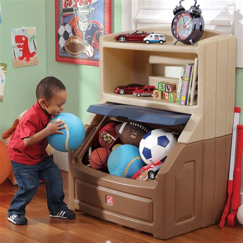 bookcase and toy organizer lift hide bookcase storage chest pink red blue toy kids