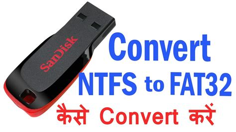 format fat32 pendrive how to convert usb pendrive format from ntfs to fat32