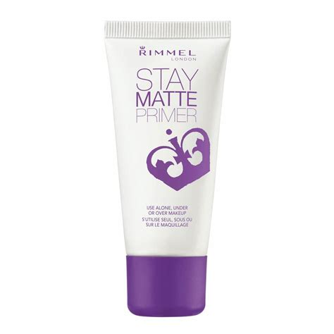 rimmel stay matte buy stay matte primer 30 ml by rimmel priceline