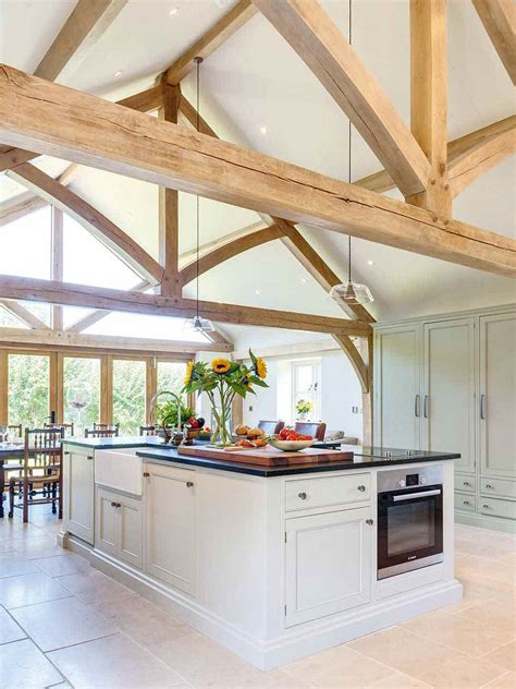 Frame Kitchen by How To Add An Oak Frame Extension Period Living