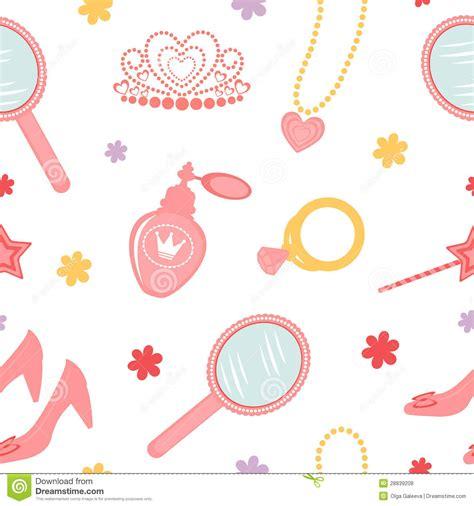 pattern princess vector princess seamless pattern stock vector image of drawing