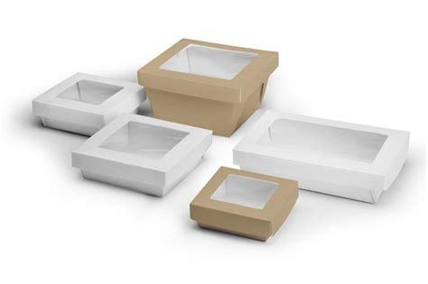 contenitori per alimenti take away contenitore da asporto in cartoncino kraft con coperchio
