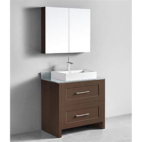 Retro Bathroom Vanities by Madeli Retro 36 Quot Bathroom Vanity For Glass Counter And