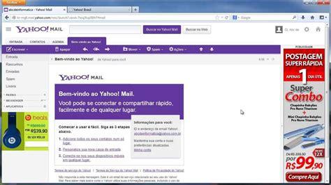 mail yahoo brasil como criar e mail gratis no yahoo com e ou no yahoo com br