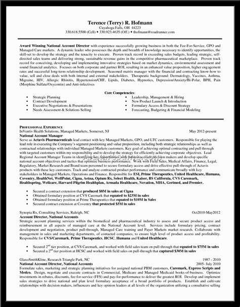 Availability Manager Sle Resume by Resume Format For Product Manager In Pharma 28 Images Sle Resume For Pharmaceutical Industry