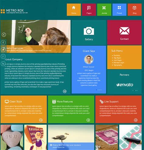 joomla html5 template the best free premium metro style responsive and seo