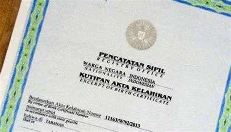 Pembuatan Akta Kelahiran Online Cirebon | baru 65 persen anak yang memiliki akta kelahiran