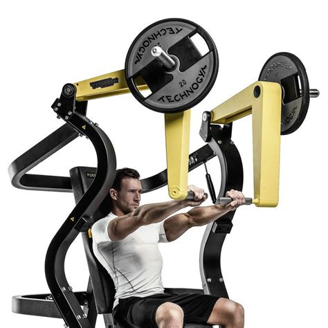 chest bench press machine pure strength plate loaded wide chest press