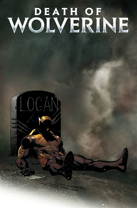 death of wolverine ed mcguinness covers death of wolverine 1 newsarama com