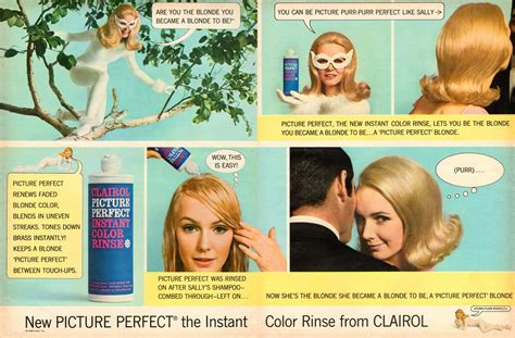 clairol ads current 2014 neat stuff blog clairol picture perfect 1966