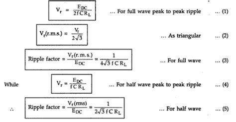 filter capacitor in power supply formula filter capacitor formula 28 images figure 4 28 rc filter and waveforms