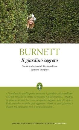 scheda libro il giardino segreto il giardino segreto ediz integrale frances hodgoson