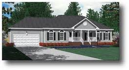 2 Car Garage Square Footage House Plans By Southern Heritage Home Designs Two Car