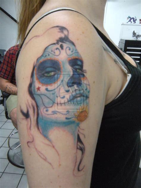 tattoo girl porn sugar skull images