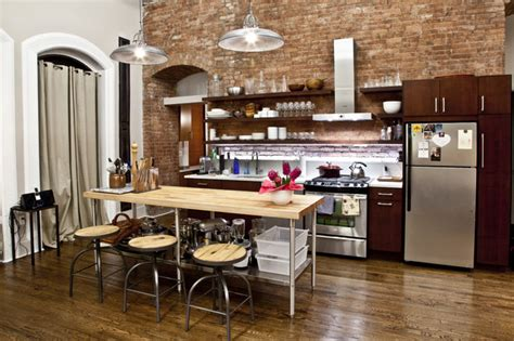 nyc loft contemporary kitchen new york by design42