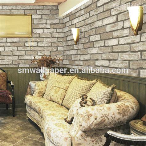 Dekor Dinding Panel Coffee new design 3d brick design wallpaper 3d effect wood wall