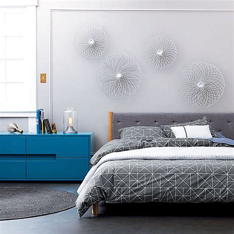 geometric bedding design trend spotlight geometric forms