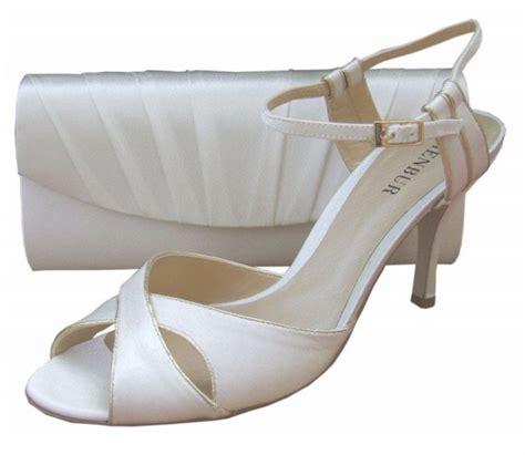 Ivory Bridal Sandals by Menbur Ivory Satin Sandal Bridal Sandal Evening Sandals