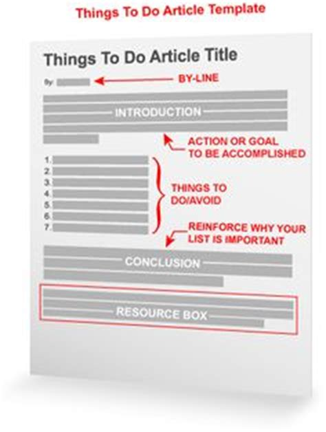 templates for feature articles i think this is a good template to write a feature story