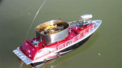 bait boat testing bait boat youtube