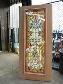 Stain Glass Door Handmade Stained Glass Tempered Doors Out Sale Jhl92 Ebay