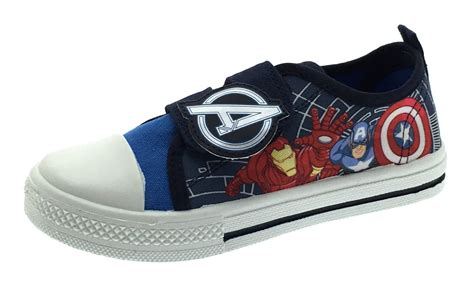 marvel shoes boys marvel canvas shoes flat pumps with