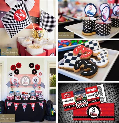 cars themed birthday ideas kara s party ideas disney cars birthday party planning