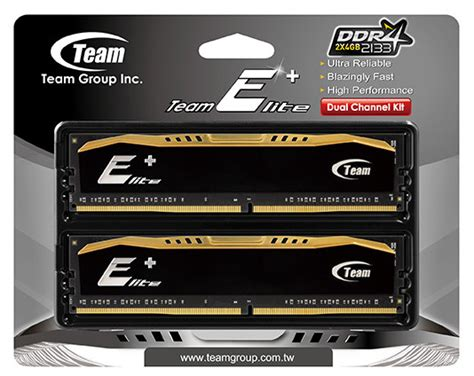 Memory Team Ddr4 4gb Pc2133 2400 For Pc And Laptop team launches ddr4 memory for desktop server use
