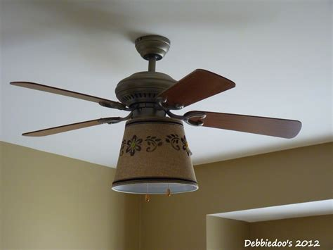 ceiling fan with shade drum shade for a ceiling fan