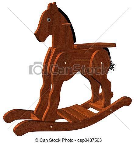 Wooden Clip Seri 1 banco de ilustra 231 227 o madeira balan 231 o cavalo estoque