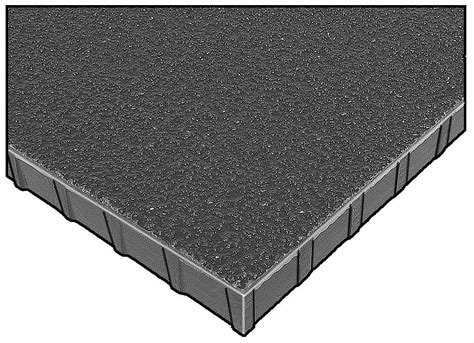 fibergrate dark gray molded grating corvex resin type