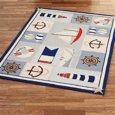 Nautical Themed Area Rugs Nautical Themed Bathroom Rugs Bathroom Design Ideas